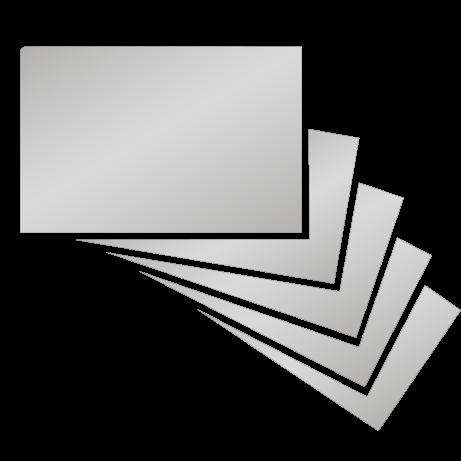 Visitenkarten | partieller UV-Lack beidseitig | einseitig